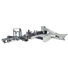 3 In 1 Double Filter Plastic Waste Recycle Machine